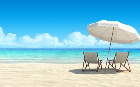 Der eigene Strand